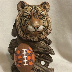 Clemson Tiger Ceramic Art